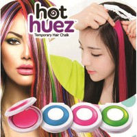 HOT HUEZ TEMPORARY HAIR CHALK -THE MOST POPULAR HAIR COLOURER OF THEM ALL!! PEWARNA RAMBUT