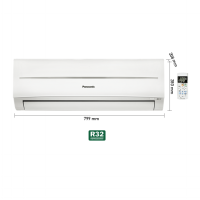[Panasonic] AC Panasonic Standard Ecosmart CS-YN05SKJ(1/2PK) UNIT ONLY!