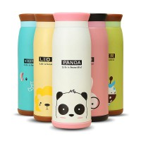Botol Minum / Colourful Cute Cartoon Thermos Insulated Mik Water Bottle 500ml / Thermos