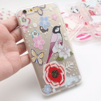 Case Soft Shell Doff Emboss Animal Iphone 5,6,6 Plus,7,7 Plus, Xiaomi Redmi 3S / Pro,Note 3, 4, Mi 5