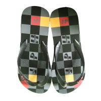 HDF sandal | PAMPA [BLACK/GREY]