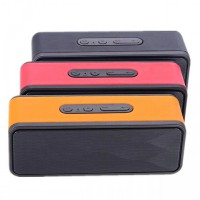 Portable Speaker Bluetooth HQ.GS-805 With Phone Call Receiver Wireless TF Card FM Radio