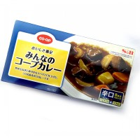 S&B Japan Curry Block Paste - Hot Lv 4 (8 Serving)
