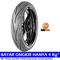 Zeneos ZN 62 RS 160/60-17 Tubeless Ban Motor Soft COMPOUND [Free Pentil Tubeless]