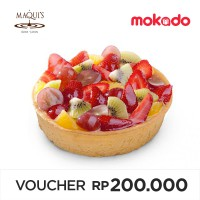 MAQUI'S Speciality Cheese Cake 15cm : Fresh Fruit (Harap Order H-1 ke Store MAQUI'S)