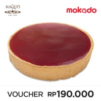MAQUI'S Speciality Cheese Cake 15cm : Rasberry (Harap Order H-1 ke Store MAQUI'S)
