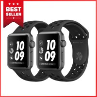 Apple Watch Series 3 Nike GPS 38mm Space Gray Aluminum Case Anthracite Black Sport Band