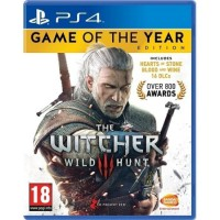 PS4 The Witcher III GAME OF THE YEAR EDITION (Reg 2)