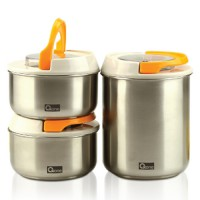 [OXONE] Vacuum Stainless Jar Oxone (OX-306) || Toples Serbaguna