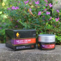 Royalty Whitening Night Cream Pemutih wajah alami cepat dan aman - 15 gr