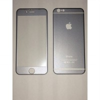 Apple Iphone 6 Grey Titanium Alloy Depan + Belakang Premium Tempered Glass