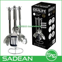 IDEALIFE IL-173 KITCHEN UTENSILS SODET TOOLS SPATULA STAINLESS STEEL