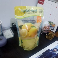 Aqiilah Fresh Sari Lemon Murni 500 ml / Paket Hemat 2 Pcs
