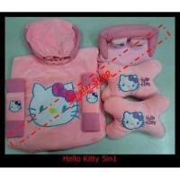 Bantal Mobil Hello Kitty 5in1