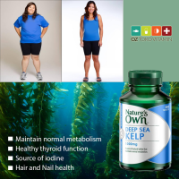 Nature's Own Deep Sea Kelp 1000mg Jaga Metabolisme Norm