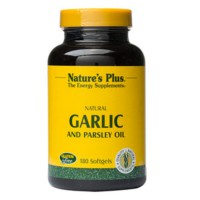 Nature's Plus Garlic and Parsley Oil 180 Softgels