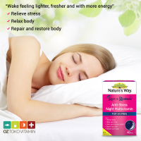 Natures Way Rest And Restore Night Multivitamin For Wom