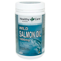 Healthy Care Wild Salmon Oil 1000mg 500 kapsul / minyak