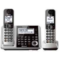 Panasonic Cordless Phone KX-TGF372 Wireless Telephone [Answering Machine][2 Handsets]
