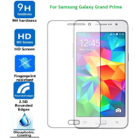 Samsung Grand Prime Pro Glass Premium Tempered Glass with Exclusive Metal Packaging