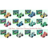 Edu Toys-Puzzle 3d-mobil racing 12 warna