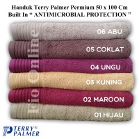 Handuk Terry Palmer Premium 50x100 Cm Antimicrobacterial Protection / Handuk Mandi Travel