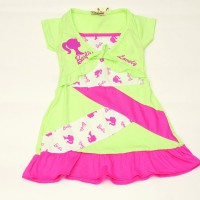 adore gaun barbie/dress barbie/terusan barbie/ baju anak/terusan anak/gaun anak/dress bayi/usia 2 th