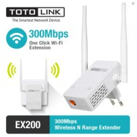 Extender Repeater Wireless 300Mbps - TOTOLINK EX200