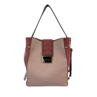 Bellezza YZ720242 Hobo Woman Shoulder Bag - Pink