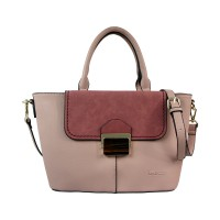 Bellezza YZ720241 Woman Top Handle Handbag - Pink