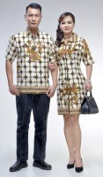 Baju Couple Batik Sarimbit Dress Jovita