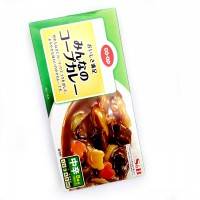 S&B Curry Block Paste - Hot Lv 3 (8 Serving)