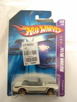 Hotwheels 65 Mustang Motown Metal White Die Cast Collection