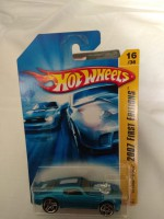 Hotwheels 70 Pontiac Firebird 2007 First Editions Die Cast Collection