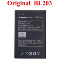 Lenovo Baterai / Battery / Batre BL-203 / BL203 FOR A278T,A308T,A318T,A365E,A369,A66 Original 100%