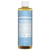 Dr. Bronner's Baby Unscented Baby Mild Pure - Castile Soap 473 Ml