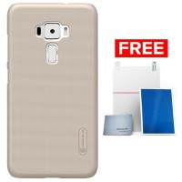 Nillkin Frosted Shield Asus Zenfone 3 (5.2) ZE520KL - Gold + Gratis Screenguard