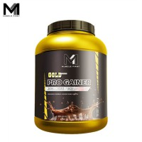 Muscle First Gold Pro Gainer 6 Lbs Glame Chocolate - lb bpom bubuk bulk bulking fitness gain gym halal M1 mass musclefirst Protein suplemen susu