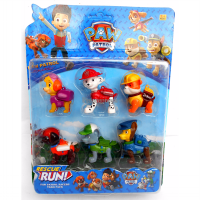 Mainan Paw Patrol Figure isi 6 Pcs - Ages 3+
