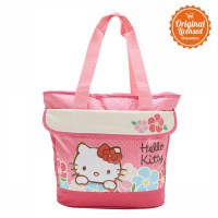 Tote Bag Print Hello Kitty Pink