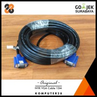 NYK High Quality VGA Cable Male to Male 15M - Kabel VGA 15 Meter