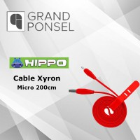 Hippo Xyron Micro 200 cm Kabel Data Charger Fast Charging 2.4 A