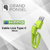 Hippo Cable Lica Type C 30cm Quick Charging 3.0  Kabel Data 30 cm