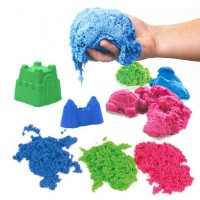 PASIR KINETIK Refill 500 Gram MAGIC PLAY SAND AJAIB MAINAN EDUKATIF Anak KINETIC SAND