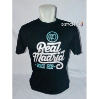 Kaos Distro Bola Real Madrid Hitam