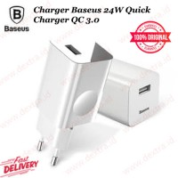 Charger Baseus 24W Quick Charger QC 3.0