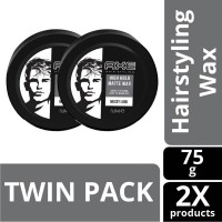 AXE Hairstyling High Hold Matte Wax 75 gram Twin Pack