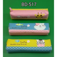 TEMPAT PENSIL KAIN SMILE BEAUTIFUL ANIMAL 517