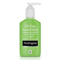 Neutrogena Oil Free Acne Wash Redness Soothing Facial Cleanser 177ml