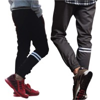 CELANA JOGGER PANTS STRIP PRIA 27-32 !| BEST SELLER !! HIGH QUALITY